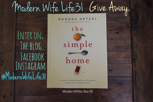 The simple home Rhonda Hetzel
