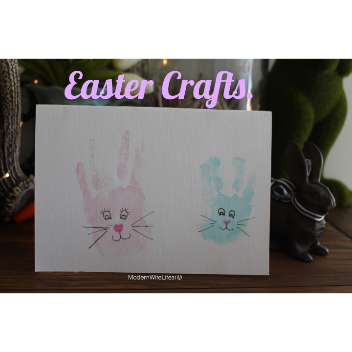 Easy Easter crafts {2018}